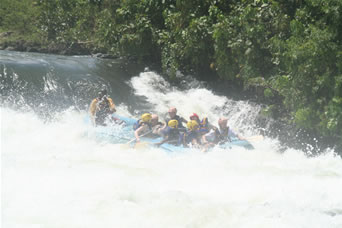 Water Rafting Uganda