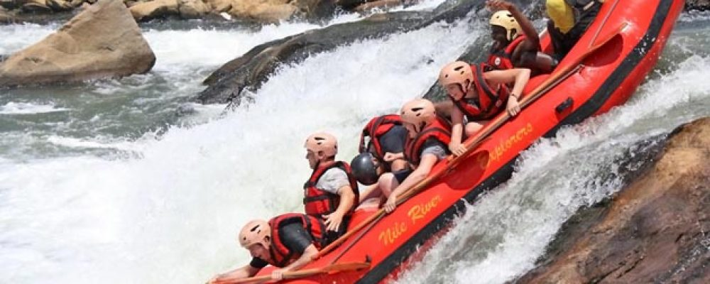 Exciting uganda tours-Rafting gone wild for conservation